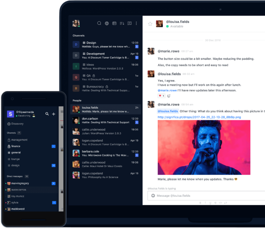Online Tools Zusammenarbeit Rocketchat