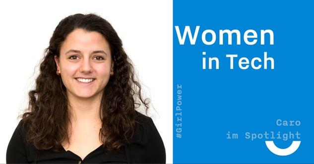 Women in Tech Caro Facebook Post